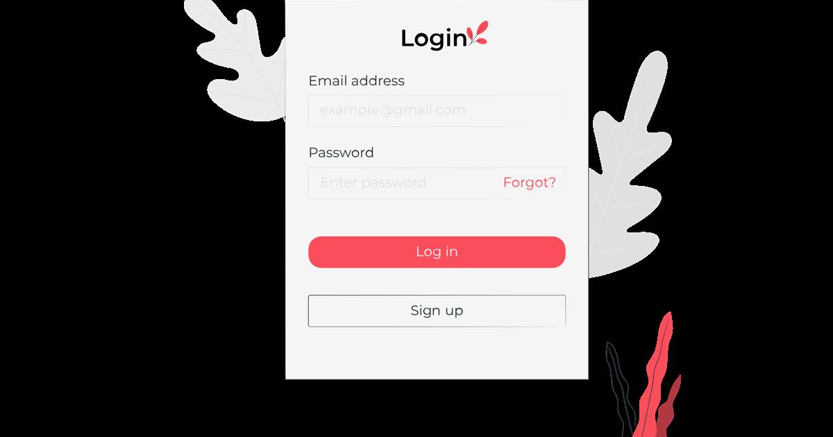Formulario de registro de usuarios de una página web