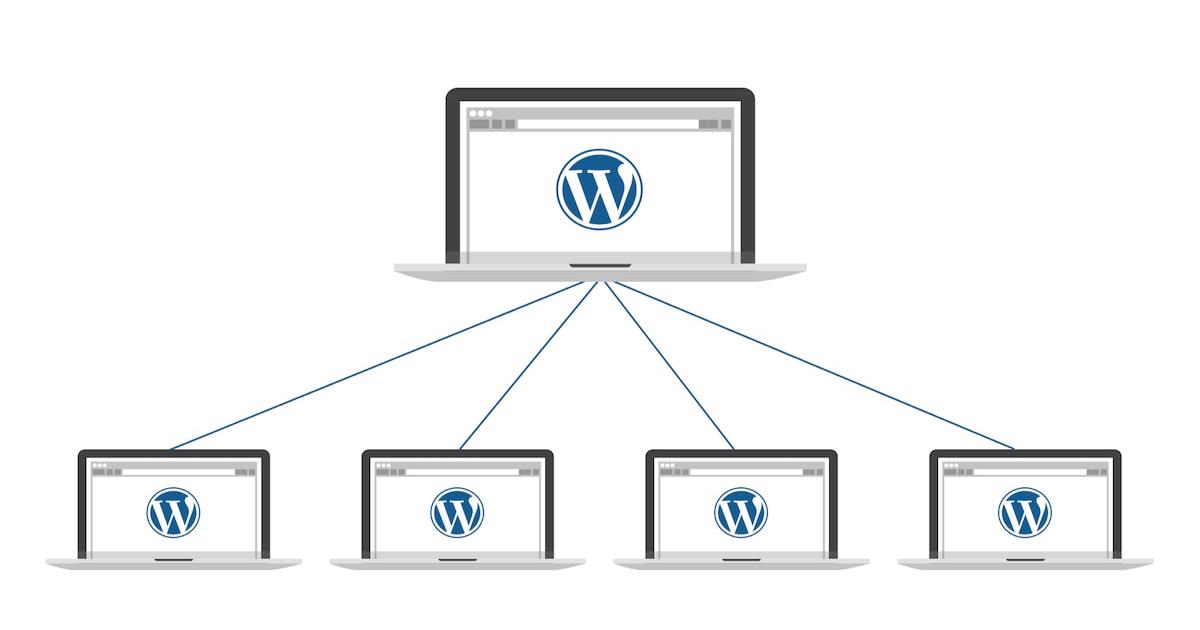 Concepto de WordPress Multisite